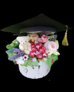 Aranjament absolvire flori artificiale, cod AB03