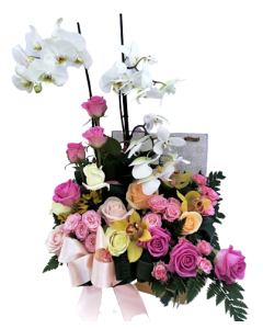 Aranjament flori naturale, cod AF05