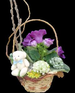 Aranjament flori naturale, cod AF18