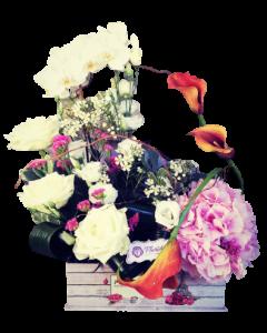 Aranjament flori naturale, cod AF27