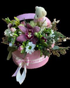 Aranjament flori naturale, cod AFB02