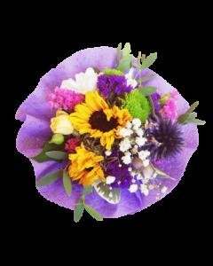 Mini buchet flori naturale, cod MBF01