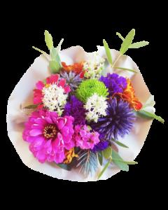 Mini buchet flori naturale, cod MBF02
